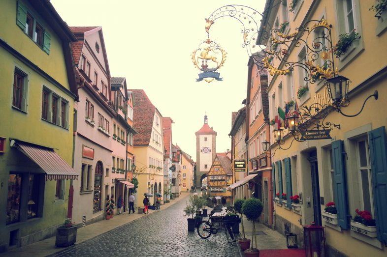 rothenburg-sokaklari