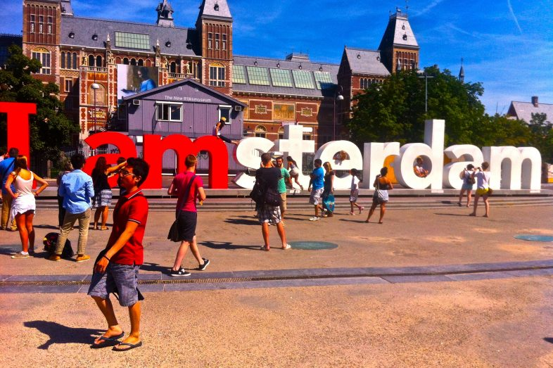Amsterdam-Slogan