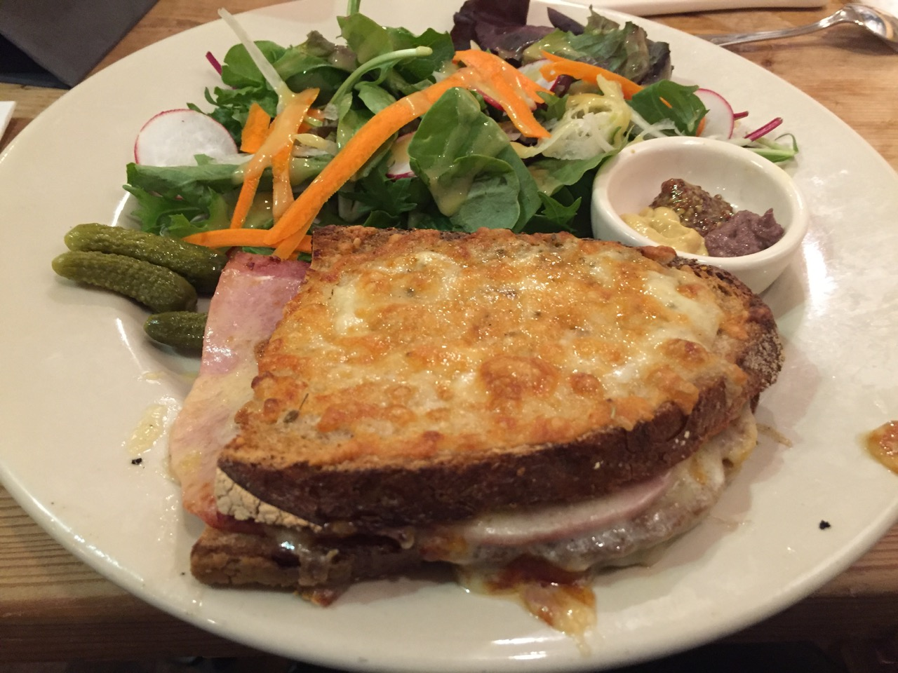 Le Pain Quotidiene Croque Monsieur